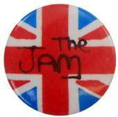 The Jam - 'Union Flag' Button Badge